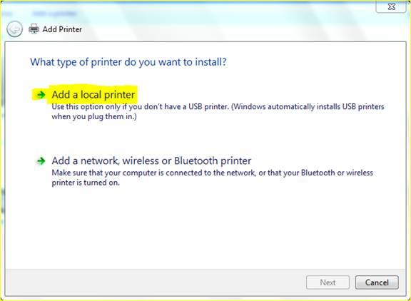 how to find printer ip address linux
